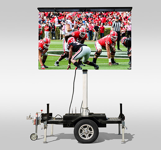 led trailer screen