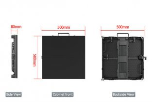 P5.95 Outdoor LED Screen For Promotions Events
