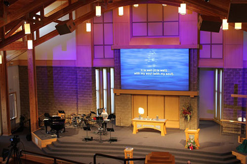 Tips Church Led Video Wall Instead Of A