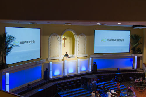 video screens for churches