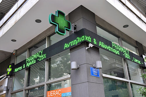 pharmacy led signs