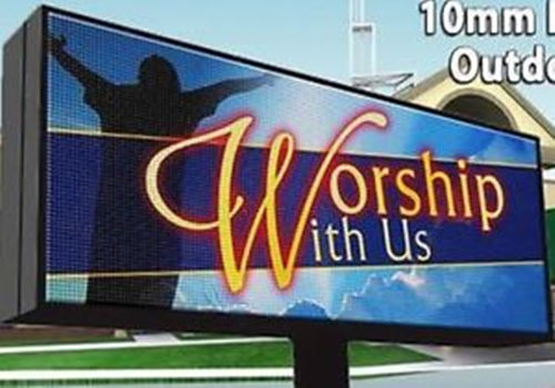 outdoor led display signs