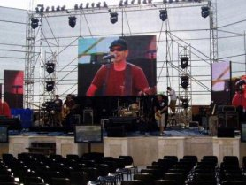 P5 Outdoor LED Screen For Concert Stage Background